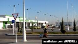 Аэропорт в Ашгабаде.
