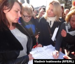 Украинские женщины-депутаты подписывают обращение к Путину