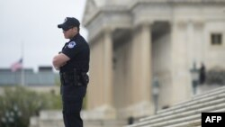 U.S. television networks later on April 17 reported parts of the U.S. Capitol were evacuated after the discovery of at least one suspicious package.