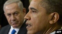 Predsjednik SAD Barak Obama i izraelski premijer Benjamin Netanjahu na sastanku u Vašingtonu, 5. mart 2012.