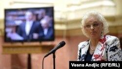 Jorgovanka Tabakovic, vice president of the Serbian Progressive Party (SNS), was named governor of the National Bank of Serbia.