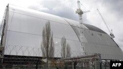Çernobylyň gurulýan täze gorag gurşawy
