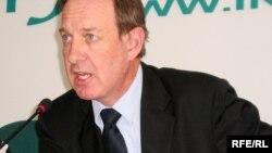 Astana Air President Peter Foster