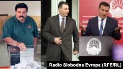 Васил Тупурковски, Никола Груевски, Зоран Заев