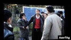"""""""Qanlı Yanvar"""" filmindən kadr"""