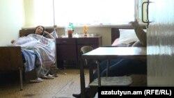 «Հայաստանի հողեր» ընկերության աշխատակիցը հիվանդանոցում, 18-ը մայիսի, 2018թ.