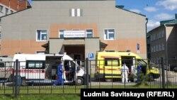 Приемное отделение Псковской городской больницы