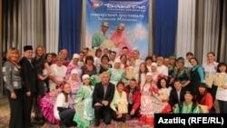 5 Себер татар яшьләре фестивале делегатлары