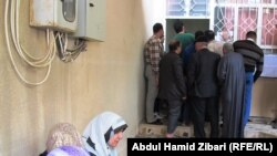 نازحون عراقيون من الأنبار في مدينة أربيل