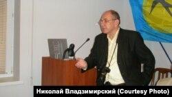 Микола Владзімірський, виступ на конференції