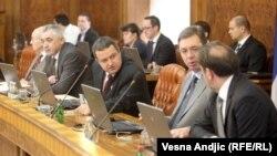 Vanredna sednica Vlade Srbije 22. april 2013.