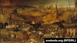 Пітэр Брэйгель Старэйшы, «Трыюмф сьмерці» (1562)