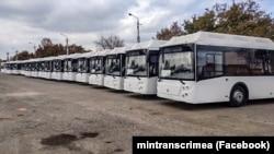 Новые автобусы в Крыму