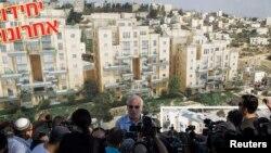 Ministar Uri Ariel govori medijima o nastavku izgradnje naselja u istočnom Jeruzalemu