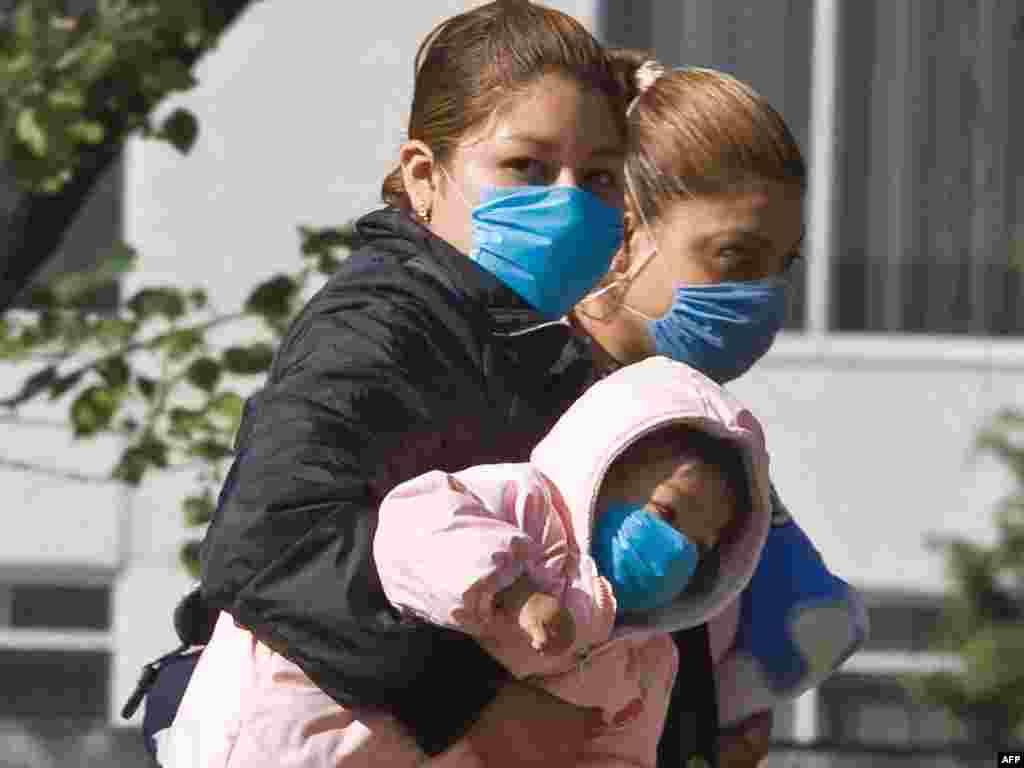 Meksiko - Maske obavezne - Preko 150 mrtvih, 2000 oboljelih u Meksiku, i još 700 u svijetu - to su podaci vezani za tzv. gripu A. U nedjelju veče je saopćeno da pandemija pokazuje prve znakove smirivanja.