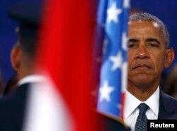Барак Обама на саммите НАТО в Варшаве. 8 июля