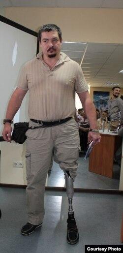 Олександр Кікін після лікування в Ізраїлі