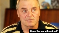Утримуваний Росією кримськотатарський активіст Едем Бекіров