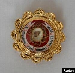 Ковчег с кровью Папы Кароля Войтылы