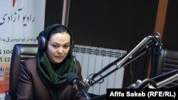 شمایل زارع فعال زن، کمیشنر کمیسیون شکایات انتخاباتی ولایت لوگر