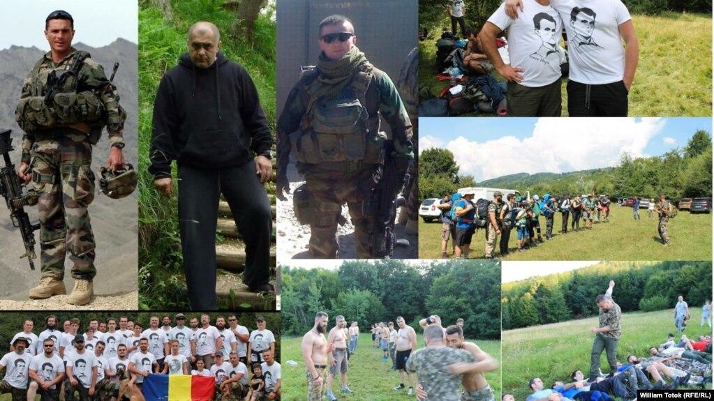 """Colaj cu imagini de la taberele de antrenament """"în arte marțiale"""", organizate de Asociația Gogu Puiu"""