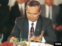 O'zbekiston prezidenti Islom Karimov 1991 - yilda