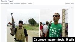 Бывший военнослужащий Свободной Армии Сирии Лаит аль-Салех