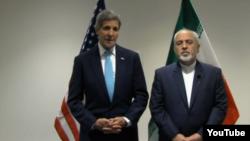 Держсекретар США Джон Керрі та міністр закордонних справ Ірану Мохаммад Джавад Заріф, Нью-Йорк, 26 вересня 2015 року