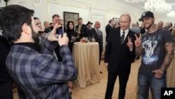 Тимати – активист кампании Владимира Путина –2012