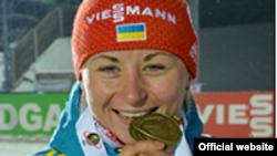 Одна з переможниць, спортсменка Валентина Семеренко