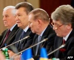 Четыре президента Украины на круглом столе: объединенная власть?