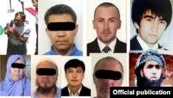 Акси гумонбарои ҳамла ба сафорати Чин дар Бишкек