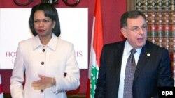 دولت آمریکا همواره از فواد سنیوره، نخست وزیر لبنان حمایت کرده است.