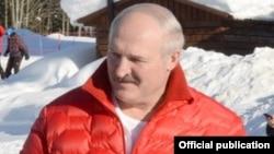 Аляксандар Лукашэнка ў Сочы, архіўнае фота