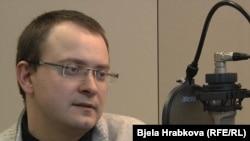 Бывший кандидат в президенты Беларуси Алесь Михалевич.