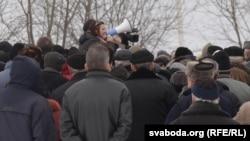 Мітынг у Смалявічах супраць будаўніцтва Кітайскага індустрыяльнага парку