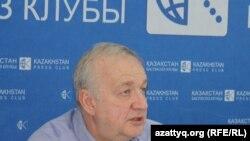 Юрий Оксамитный, представитель Детского фонда ООН (ЮНИСЕФ) в Казахстане. Алматы, 5 июня 2015 года.