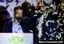 سانتیاگو آباسکال، رهبر حزب راستگرای افراطی وکس