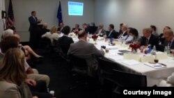 مؤتمر عن الإرهاب في الكونغرس الأميركي بحضور مشرعين من الولايات المتحدة وأوروبا