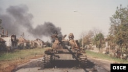 Vukovar, tenkovi JNA, 1991. godine