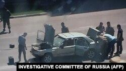 """На стареньком """"Мерседесе"""" несовершеннолетние братья протаранили полицейких в Грозном"""