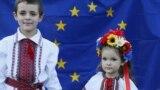 Діти під час святкування Дня Незалежності України. Київ, 24 серпня 2014 року