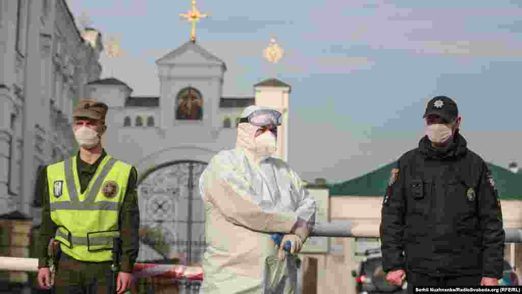 Контроль над дотриманням карантинних заходів глава столиці поклав на поліцейських