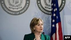 АКШнын Мамкатчысы Хиллари Клинтон Исламабатта. 28-октябрь.