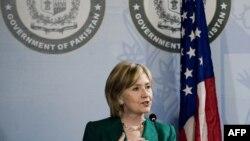Secretarul de stat Hillary Clinton, miercuri, la Islamabad