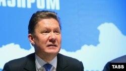 """Председатель правления российской компании """"Газпром"""" Алексей Миллер."""