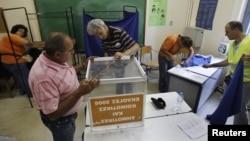 Подготовка к выборам в Афинах, 15 июня 2012