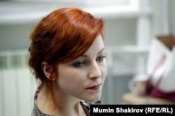 """Анастасия Слонина - актриса """"Театра Док""""."""