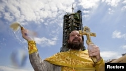 Казахстан, космодром Байконур, 14 мая 2012