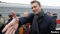 Opposition leader Aleksei Navalny (file photo)